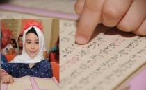 6 yaşındaki Gülşen'in azmi