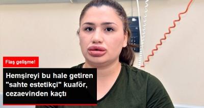 Adana'da Hemşireye Silikon Dehşetini Yaşatan Sahte Estetikçi Cezaevinden Kaçtı