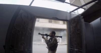 Afrin Cinderes'te Sokak Çatışmaları Kameralara Yansıdı! ÖSO,