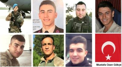 """Afrin'de 8 Şehit Verdiğimiz Çatışmadan Kahreden Detayları: """"Tünellere Pusu Kuran 100 Terörist, Ağır Silahlarla Saldırdı"""""""