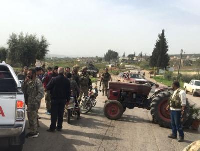 Afrin'de Yeni Gelişme! Afrin'e Giriş ve Çıkışlar Mehmetçik Tarafından Kapatıldı