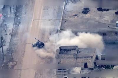 Afrin'den Türkiye'ye Roket Atmışlardı! Sivil Kıyafete Bürünen Teröristler Net Şekilde Görüntülendi