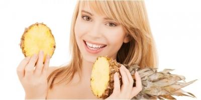 Ananas İle Cilt Maskesi