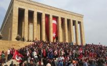 Anıtkabir Yine Milyonların Ziyaretinde