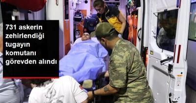 Askerlerin Zehirlenmesinin Ardından Manisa Tugay Komutanı Albay Şevki Güvenç Görevden Alındı!