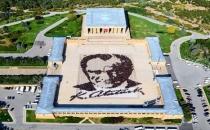 Atatürk portresi Guiness'e hazır
