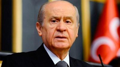 """Bahçeli Çok Sert! MHP Lideri Bahçeli'den CHP'ye Flaş Sözler: """"CHP, Cephe Gerisinde Pusu Kuruyor"""""""