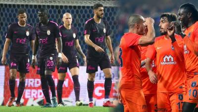 Başakşehir Cimbomu Ezdi Geçti! M. Başakşehir: 5 - Galatasaray: 1