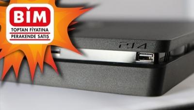 Bim 2 Haziran 2017 Aktüel Ürünler Kataloğu ile PlayStation 4 Slim Sadece 999 TL!