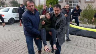 Bursa'da Sevgilisiyle Kavga Edip Çıplak Halde Cama Çıkmıştı! Verdiği İfadeler Kan Dondurdu