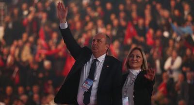 CHP'de Muharrem İnce Sesleri Yükseliyor! İşte Muharrem İnce'nin Cumhurbaşkanlığı Adaylık Pankartı