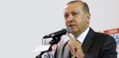 """Cumhurbaşkanı Erdoğan'dan Afrin Bildirisine İmza Atanlara Sert Sözler: """"Haninler"""""""