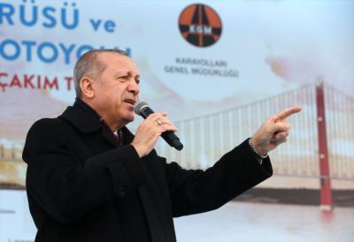 Cumhurbaşkanı Erdoğan Açıkladı! Çanakkale Köprüsü'nün Açılış Tarihinde Anlamlı Detay