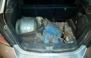 Diyarbakır'da Bombalı Araç yakalandı