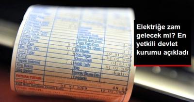 EPDK'dan Elektriğe Zam Açıklaması! Elektriğe Zam Gelecek Mi?