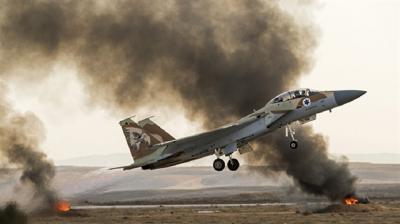 Flaş! Savaş Mı Çıkıyor: İsrail Suriye'de İran Üssünü Vurdu