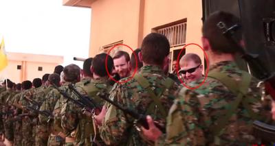 Fotoğraflar Her Şeyi Anlatıyor! YPG Kampındaki Amerikan Askerlerinin Görüntüleri Ortaya Çıktı