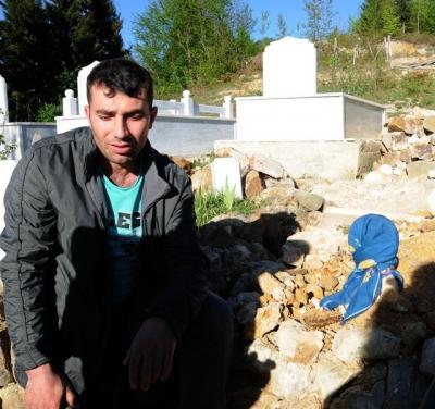 Giresun Çamaşır Makinesine Saklanarak Havasızlıktan Ölen 6 Yaşındaki Ecrin Toprağa Verildi!