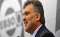 Gül: Başbakan Ahmet Davutoğlu