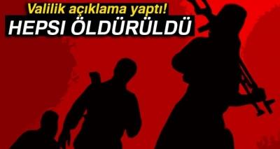 Hakkari'de Şehidin Kanı Yerde Kalmadı: 4 Terörist Öldürüldü!
