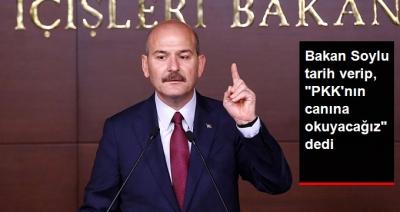 """İçişleri Bakanı Soylu'dan Flaş Açıklama: """"O Tarihte PKK'nın Canına Okuyacağız"""""""