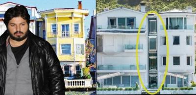 İstanbul Büyükşehir Belediyesi Açıkladı: Zarrab'ın Yalıları Yıkılacak!