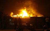 İstanbul Halkalı'da Yangın