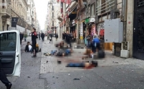 İstanbul Patlaması Güvenlik Kameralarına yansıdı
