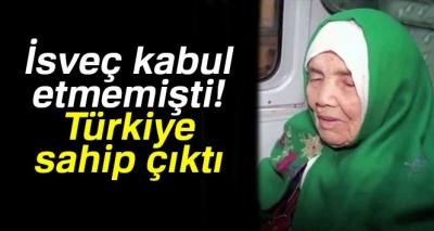 İsveç'in Sınır Dışı Etmek İstediği 106 Yaşındaki Mülteci Kadına Türkiye Sahip Çıktı