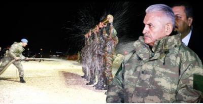 Komandoların Başbakan Yıldırım'a Özel Gösterisi Film Sahnelerini Aratmadı!