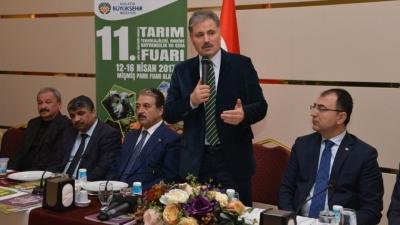 Malatya'da büyük gün ! 11. Doğu ve Güneydoğu Anadolu Tarım Teknolojileri Fuar'ı açılıyor