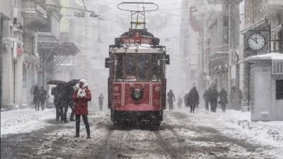 Meteoroloji -4 Derece Uyarısı Yaptı! İstanbul'da Hafta Sonuna Dikkat