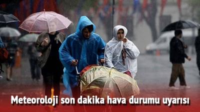 Meteorolojiden O İller İçin Kritik Uyarı! 14 Temmuz'da Çok Şiddetli Yağış Geliyor!