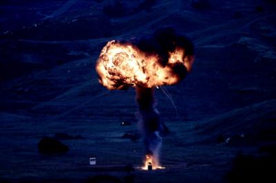 Nefes Kesen Tatbikat! Gerçek Roketler Kullanıldı, Hedefler 12'den Vuruldu