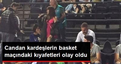 Nihal ve Bahar Candan Kardeşlerden Bir Skandal Daha! Basketbol Maçında Giydikleri Kıyafetler Pes Dedirtti!