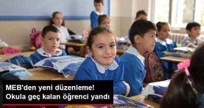 Okula Geç Kalan Öğrencilere Kötü Haber! MEB Yeni Düzenlemeye Gitti!