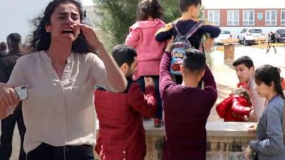 Şanlıurfa'da Korkunç Anlar! Okul Bahçesinde Kavga Çıktı, Öğrencilerin Gözü Önünde Silahlar Patladı