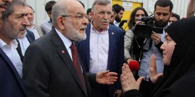 Şehit Eşi Temel Karamollaoğlu'nun Karşısına Dikilip Meydan Okudu: Adam Gibi Gidin!