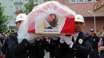 Şehit Öğretmen Aybüke Yalçın'ın Cenazesinde Gözyaşları Sel Oldu!