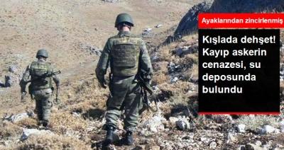 Siirt'te Kışlada Dehşet! Kayıp Asker, Su Deposunda Ayaklarından Zincirlenmiş Halde Ölü Bulundu