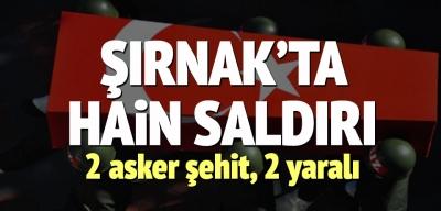 Şırnak'taki Çatışmada Şehitlerimiz Var!