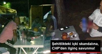 Skandal! CHP'liler Çanakkale Şehitliği'nde İçki İçti, Savunmaları Pes Dedirtti!