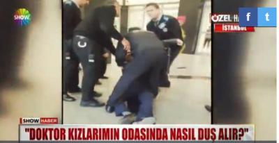 Skandal İddia! İstanbul'da Doktor İki Kız Kardeşin Tedavi Gördüğü Odaya Girip Duş Aldı, Ortalık Karıştı!