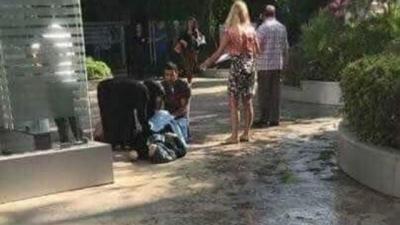Skandal! Suriyeli Mülteci Kadın Hastaneye Alınmadığı İçin Kapıda Doğum Yaptı!