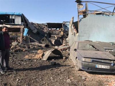 Son Dakika! Bursa'da Tekstil Fabrikasında Büyük Patlama, Ölü ve Yaralılar Var