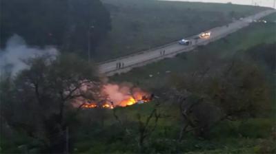 Son Dakika Kırmızı Alarmla Duyuruldu: Suriye İsrail Jetini Düşürdü