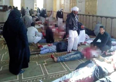Son Dakika! Mısır'da Kanlı Saldırı: Cuma Namazı Sırasında Camiye Saldırdılar: 85 Ölü, 80 Yaralı