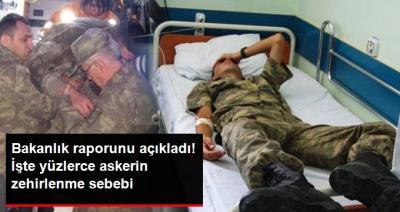 Son Dakika! Sağlık Bakanlığı Manisa'da Yüzlerce Askerin Zehirlenme Nedenini Açıkladı!
