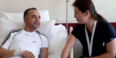 Son Hastası Organ Nakli Yapılan Eşi Oldu! Hem Hastalara Hem Eşine Bakıyor!