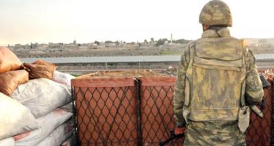 Suriye Sınırında Nöbet Tutan Asker Silahı Çenesine Dayayıp İntihar Etti